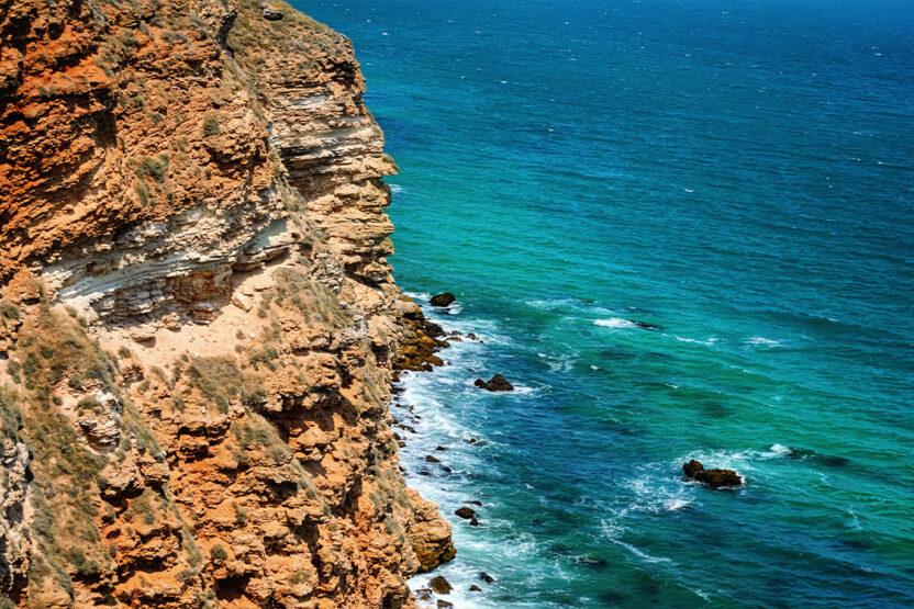 Blick vom Kap Kaliakra in Bulgarien