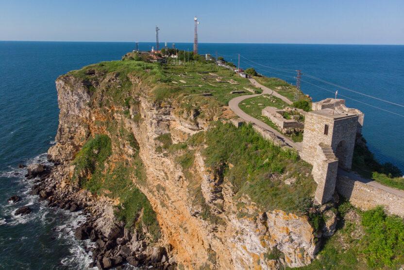 Kap Kaliakra Aussicht in Bulgarien