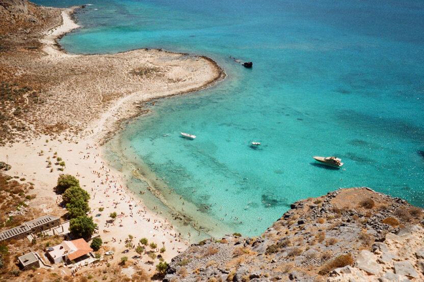 Die Lagune von Balos auf Kreta