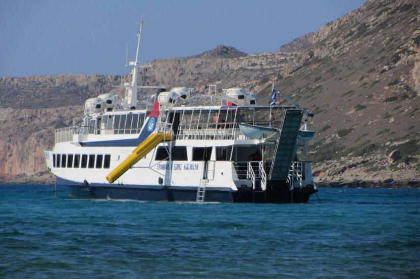 Fährfahrt zur Lagune von Balos
