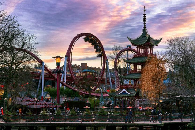 Achterbahn The Demon in Tivoli Gardens