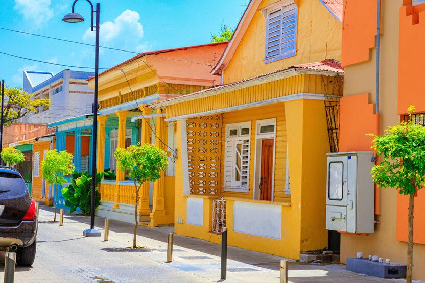 Die Stadt Puerto Plata in der Domininikanischen Republik