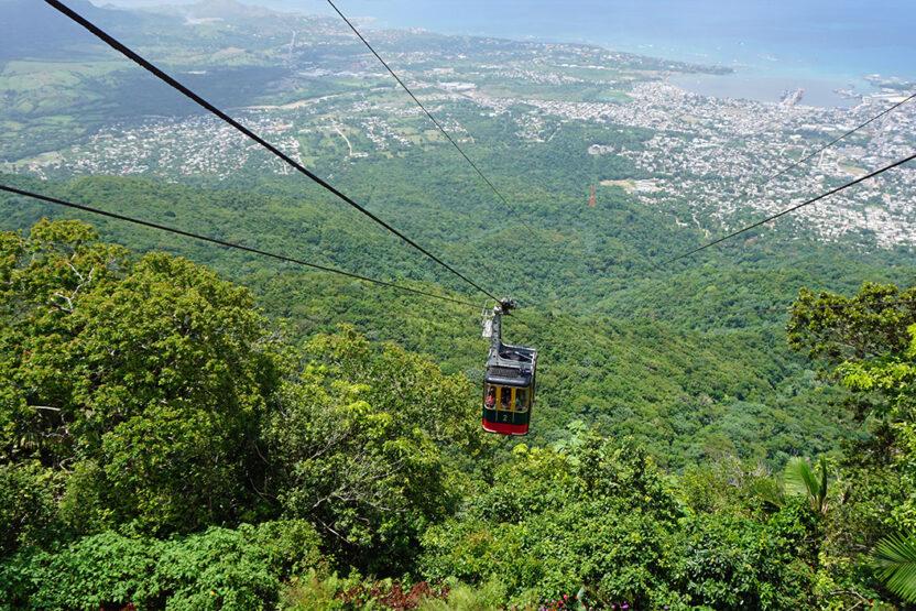 Die Stadt Puerto Plata in der Dominikanischen Republik