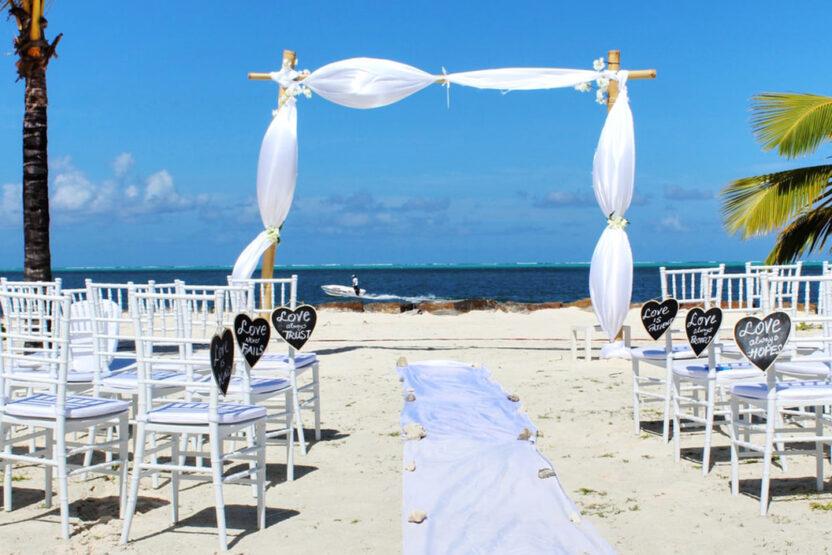 Hochzeitslocation direkt am Traumstrand in Mauritius