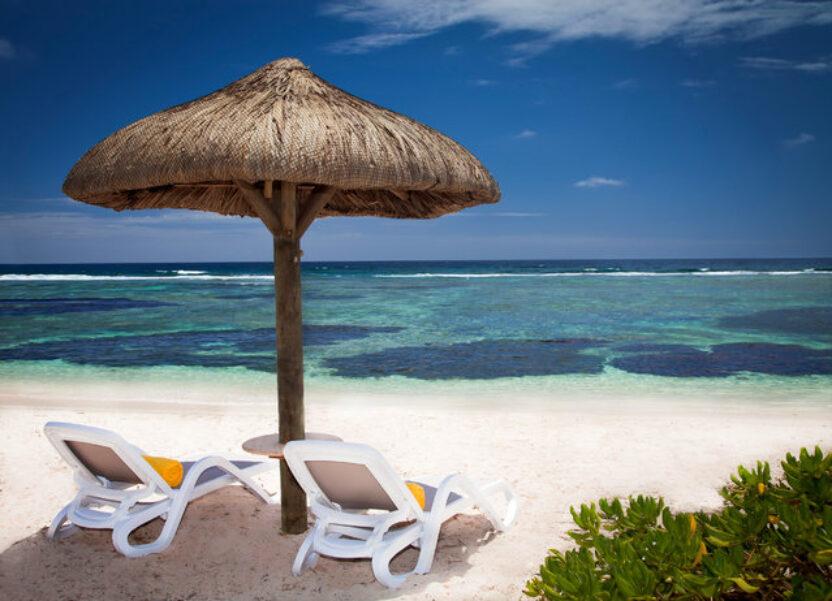 Traumstrand auf Mauritius