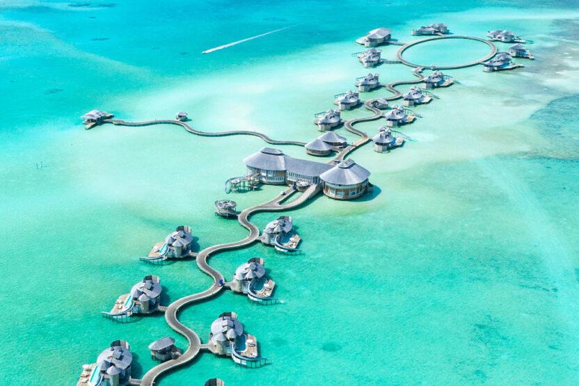 Resortanlage auf den Malediven