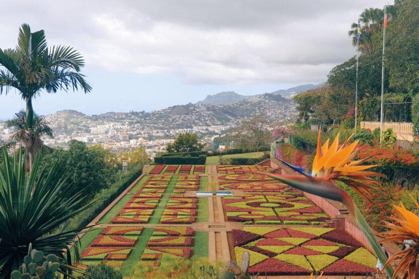 Der Botanische Garten in Madeira