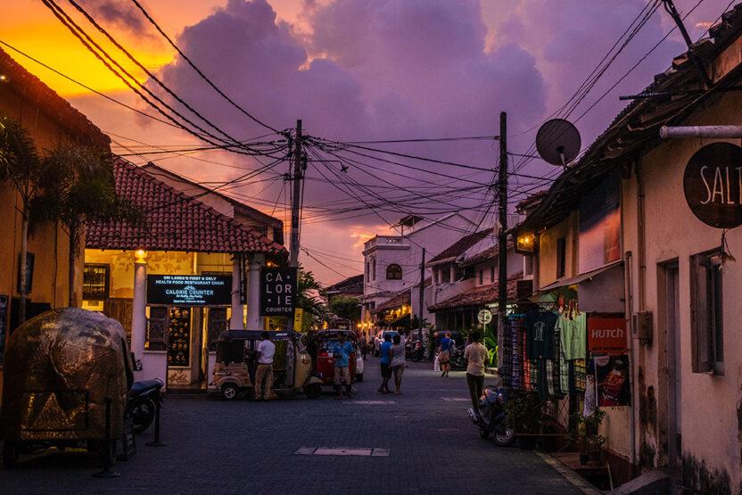 Wunderschöne Hafenstadt Galle, Sri Lanka