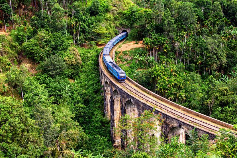 Nine Arch Brücke in Ella, Sri Lanka