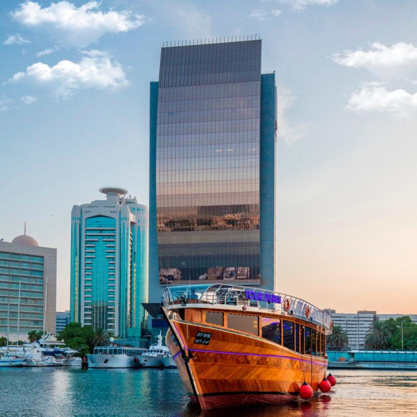 Bootstour auf dem Dubai Creek