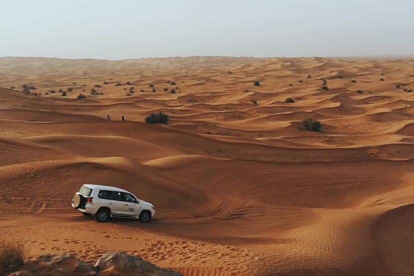 Wüstentour mit dem Auto