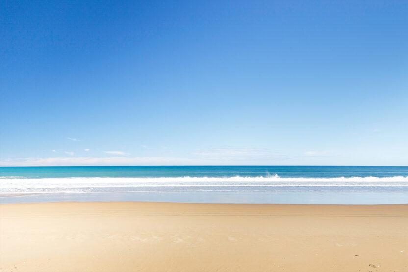 La plage de rêve de Praia de Santa Mónica au Cap-Vert