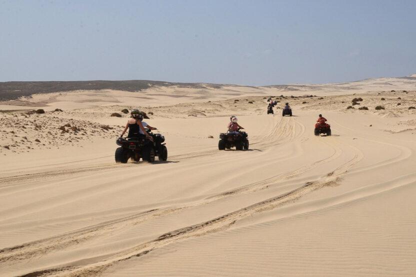Randonnée en quad au Cap-Vert