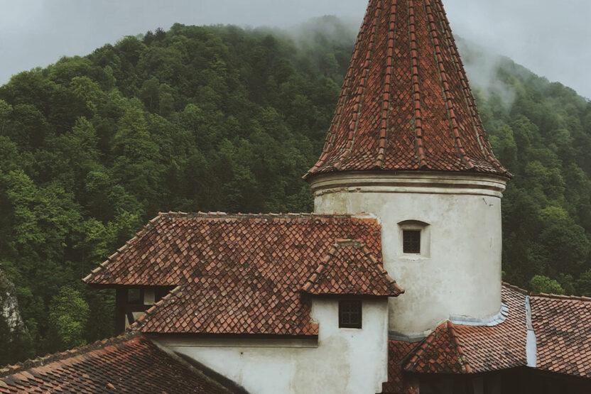 Das Schloss Bran in Transsilvanien