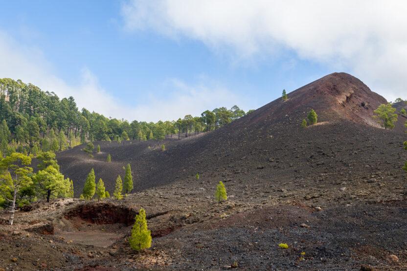 Lavalandschaft im Nationalpark Teide auf Teneriffa