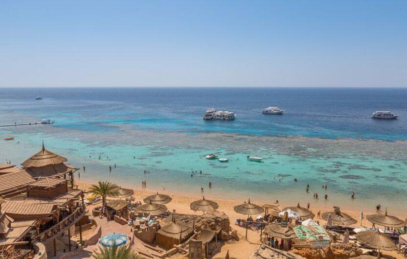 Traumstrand am Roten Meer in Ägypten