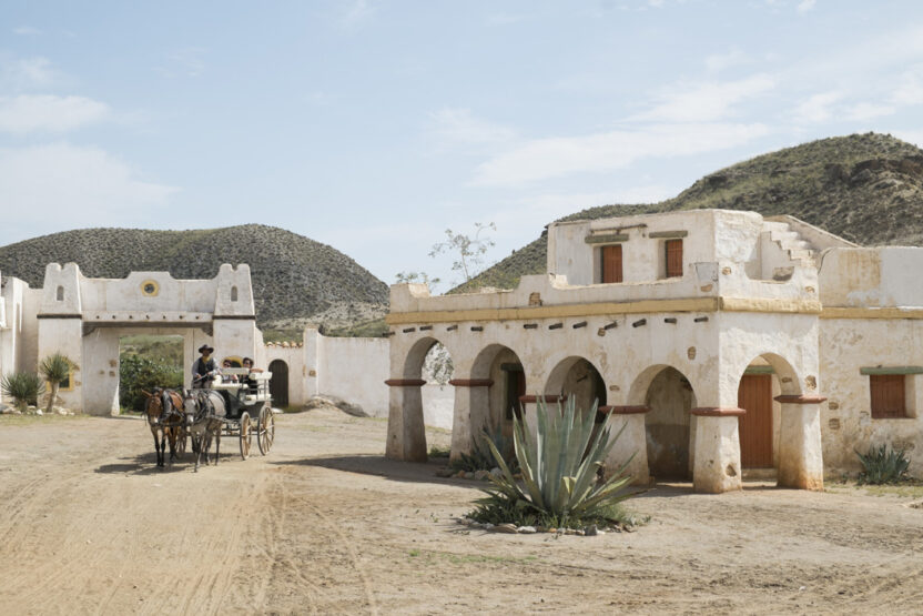 Le Desierto de Tabernas sert souvent de décor pour des westerns