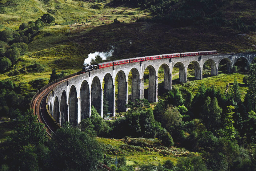 Harry Potters berühmte Dampflok