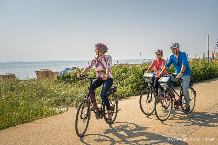Kellenhusen - Radfahren beim Urlaub an der Ostsee