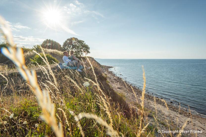 Steilküsten erkunden beim Urlaub an der Ostsee
