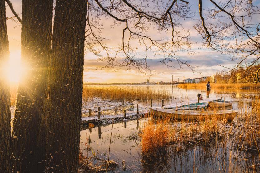 Ab nach Finnland in den Urlaub