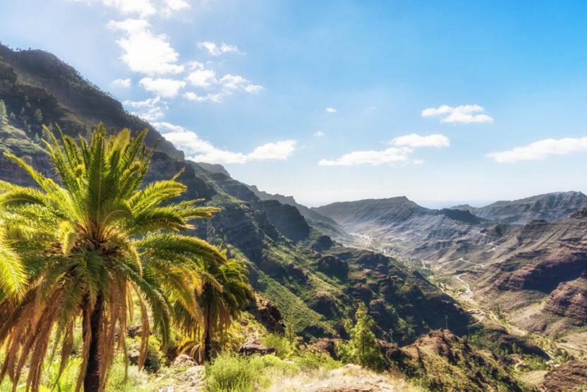 Barranco de Mogan auf Gran Canaria