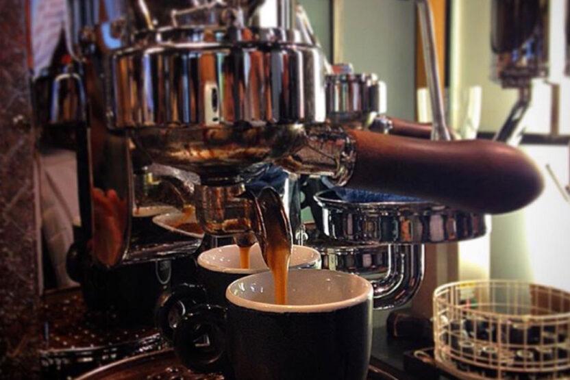 Kein Mittag ohne Espresso