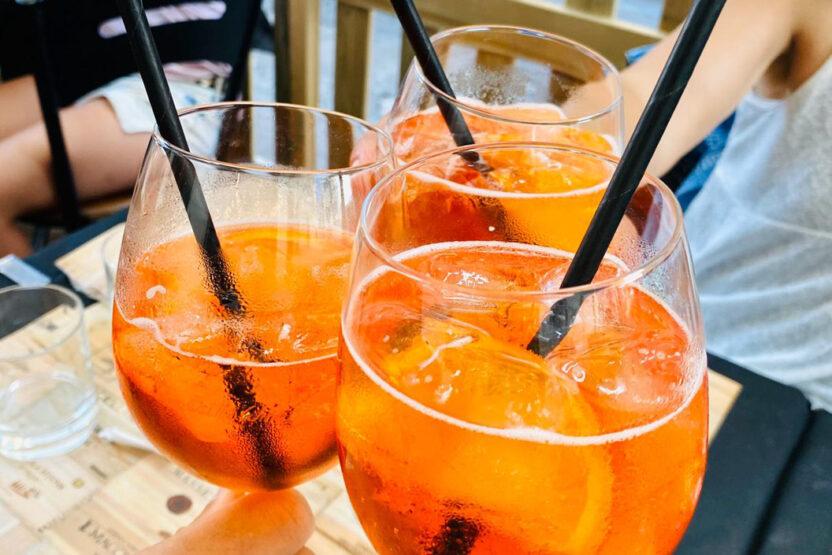 Aperol Spritz ist das Kultgetränk der Italiener