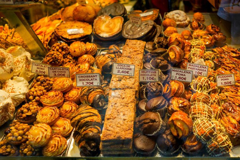 Egal, ob süß, deftig, würzig oder frisch - der Boquería-Markt bietet alles