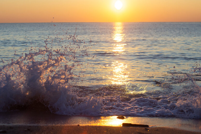 Sonnenuntergang am Playa Marbella