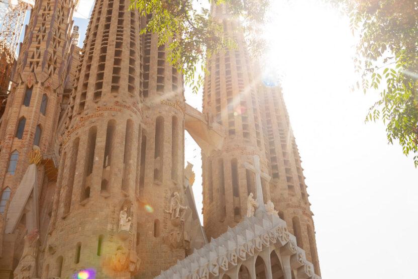 Sagrada Família - ein Prachtbau, der immer noch nicht abgeschlossen ist.