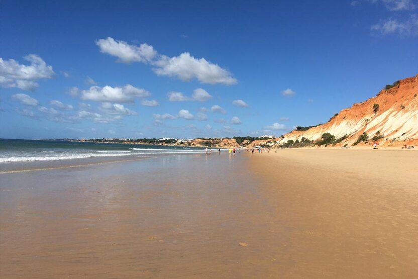 Küstenspaziergang an der Algarve