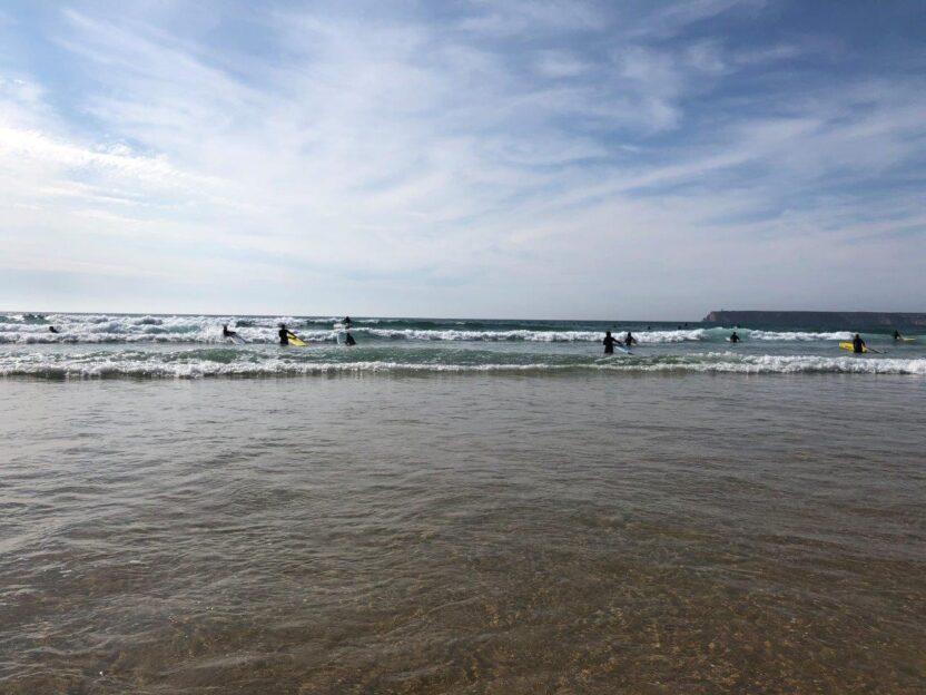 Sagres - ein Mekka für Surfer