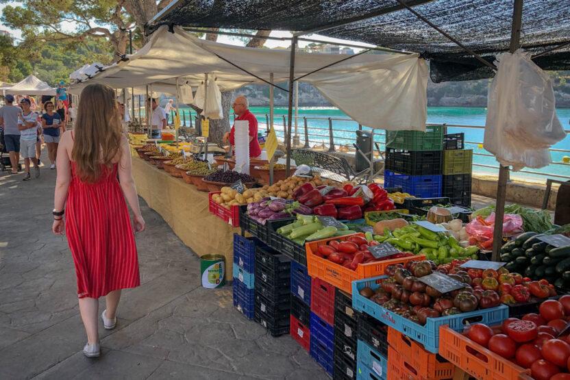 Marktbesuch auf Mallorca