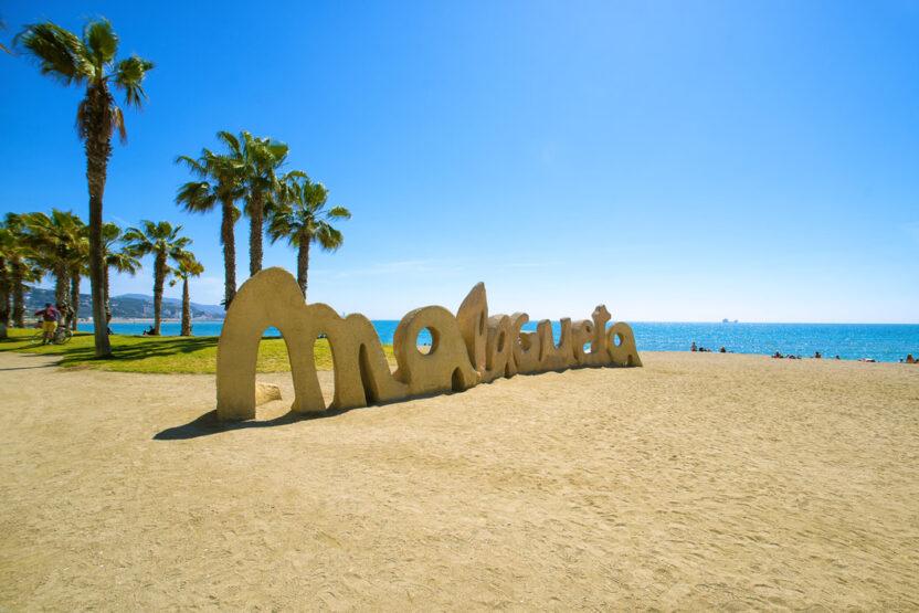 Stadtstrand Malaga